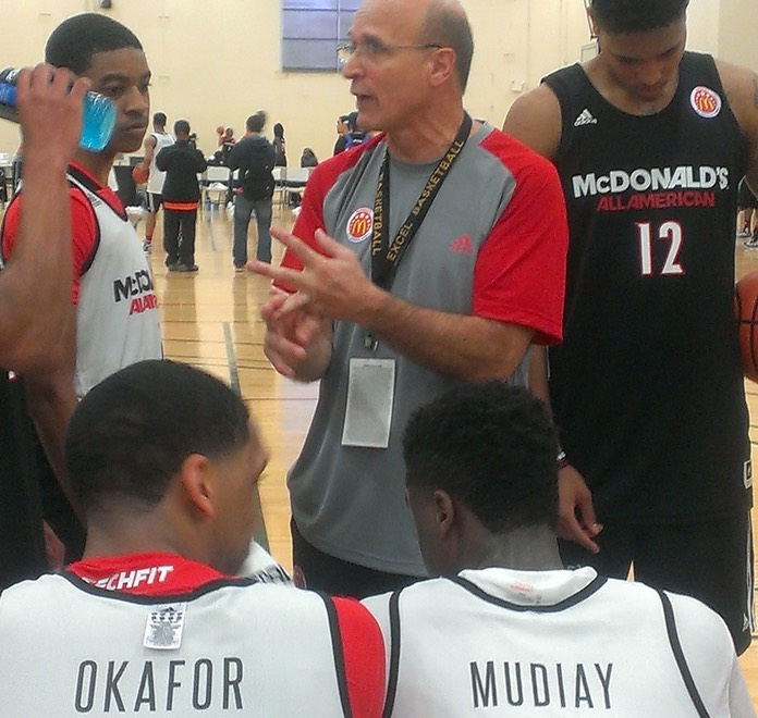 Coach Allocco Coaching Lyles, Oubre, Okafor and Mudiay