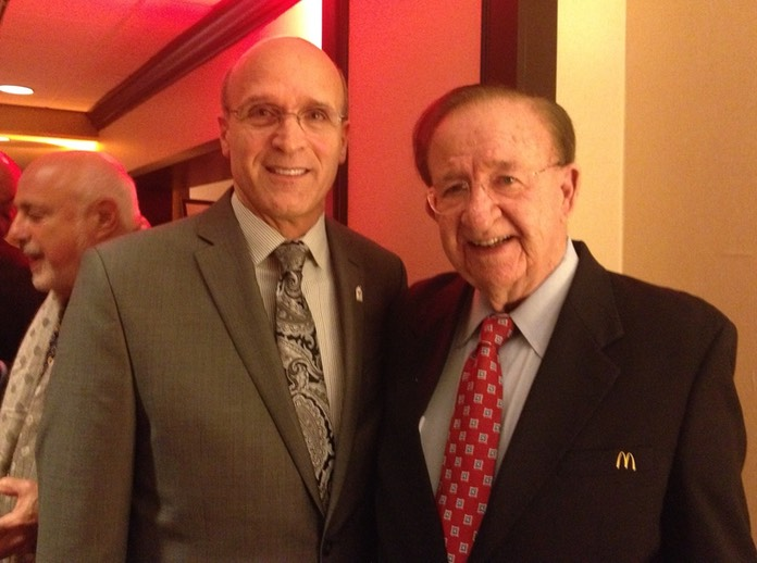 Coach Allocco with Greatest High School Coach Morgan Wootten