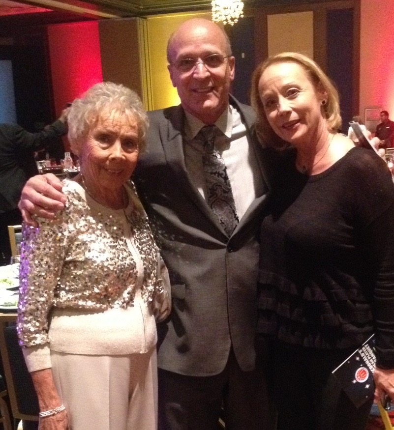 Coach Allocco with John Wooden's Daughter and Granddaughter!