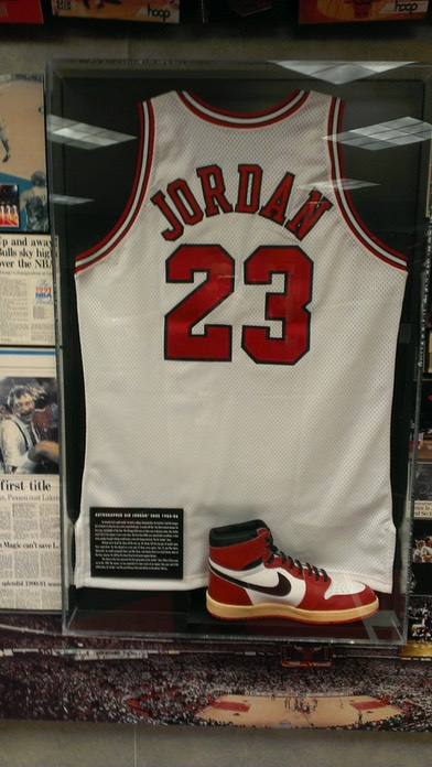 Jordan Display in United Center
