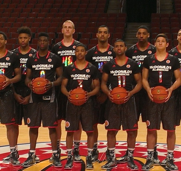 The McDonald's All-American Game Winning West Team