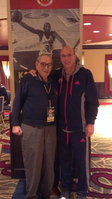 Coach Allocco with 5 Star Legend Howie Garfinkel